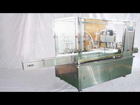 Factory Acceptance E cigar oil formulation tested with liquid filling bottling MC 煙油配比瓶裝線出口美國