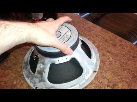 Fixing Celestion speaker rubbing coil (PART 1)