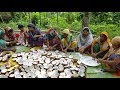 Traditional Coconut Sweet Making By Women - Tasty Narikel Laddu For Whole Village Peoples