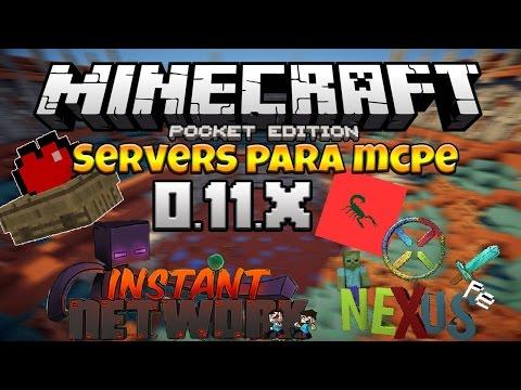 Top 4 Servers De Minecraft PE 0.11.0