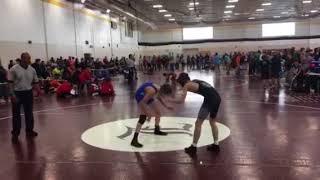 Wrestling- Mustang Invitational 12/16/16 match 2