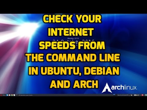 Check Your Internet Speeds Easily In Linux from the Command Line