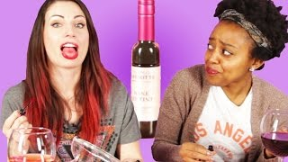 Wine Lovers Try Wine Lip Tints