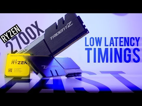 RYZEN 2700X + Low Latency RAM - Still AMAZING PERFORMANCE gains...