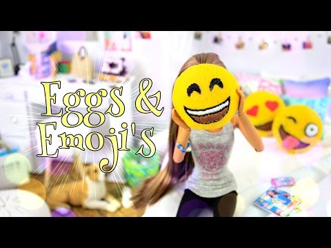 DIY - How to Make: Felt Eggs & Emoji Pillows - PINTEREST - Handmade - Crafts
