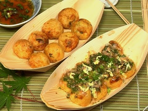 How to Make Takoyaki (Japanese Octopus Ball Recipe ) たこ焼き 作り方レシピ