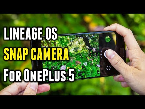 LineageOS Snap Camera | For OnePlus 5 | OxygenOS 4.5.10