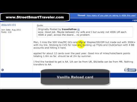 Secret Language of Manufactured Spending to Get Frequent Flyer Miles
