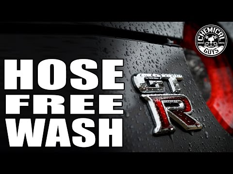 How To: Wash Your Car With Only Two Buckets Of Water - Using Rinse Free Wash & Shine - Chemical Guys