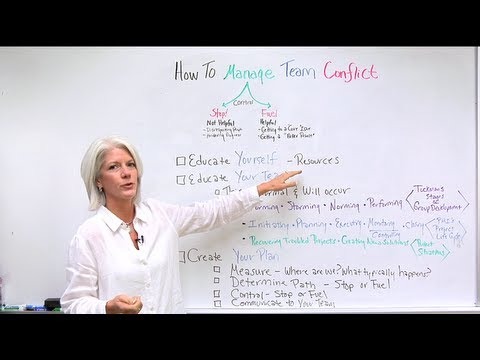 Conflict Resolution Training: How To Manage Team Conflict In Under 6 Minutes!