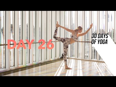Day 26 ♥ Building Better Balance |  30 DAYS of YOGA 5-Minutes a Day