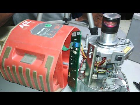 AGL laser laveler repair and internal information ਕੰਪਿਊਟਰ ਕਰਾਹਾ