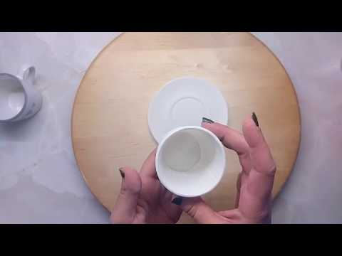 How to Make GumPaste Cup of Coffee | Cake Topper