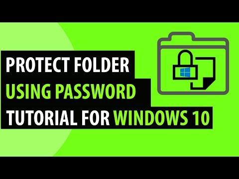 How to set password on Folder in Windows 10, 8, 7 - GoAllTechTips