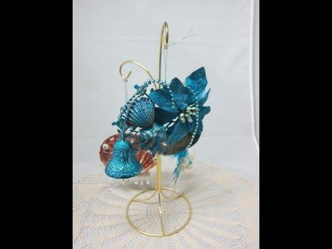 Ocean Blue Christmas Ornaments