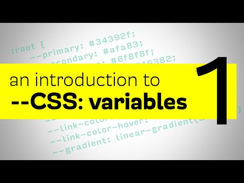 CSS Variables - An introduction