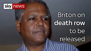 Death Row British citizen Andy Tesge pardoned