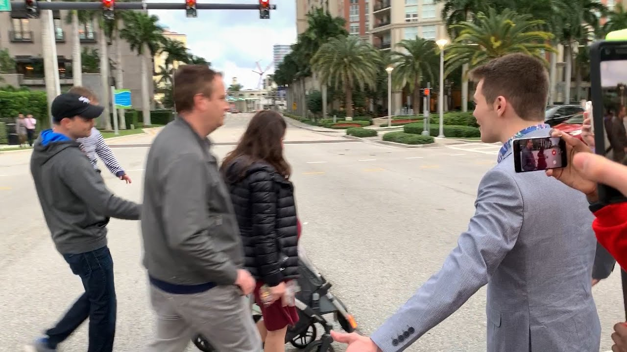 Nick Fuentes Confronts Ben Shapiro Outside TPUSA Conference