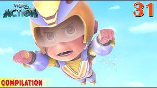 Vir : The Robot Boy | Vir Action Collection - 31 | Action series | WowKidz Action