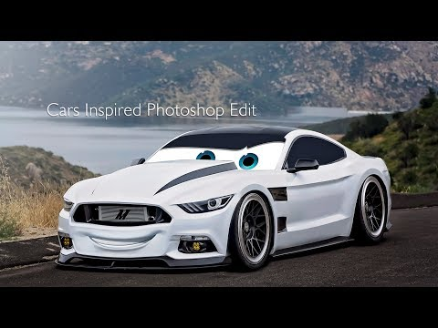 Cars Inspired Photoshop Edit Part 2