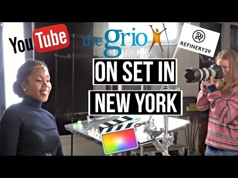 Filming in NEW YORK! | VLOGMAS DAY 8 & 9 | ★Dr. BBBD Vlog 40★