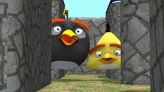 Pacman vs Angry Birds