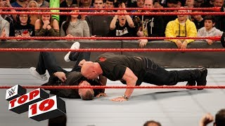 Top 10 Raw moments: WWE Top 10, January 22, 2018
