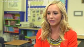 Candice Accola On Her Vampire Diaries Character Caroline Forbes