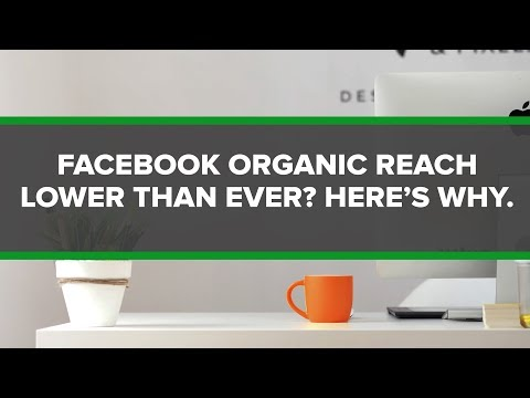 Why Your Facebook Organic Reach Is Even Lower Again