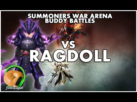 SUMMONERS WAR : Arena Vs Ragdoll (Dark Dragon Knight)
