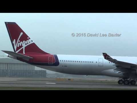Airbus A340 Heaven! - Virgin Atlantic and Thai International Depart London Heathrow Together