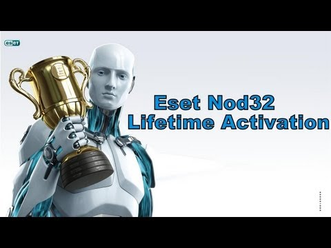 Eset Nod 32 Antivirus 6 & Smart Security 6 (LIFETIME ACTIVATOR)HD