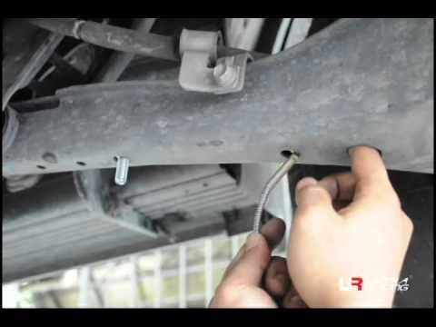 Toyota Innova Install Rear Anti Roll Bar To reduce Body Roll
