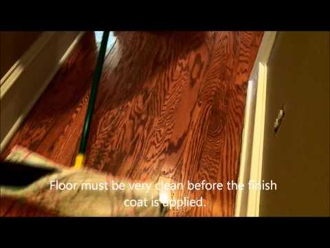 Oak Engineered Wood Floor Recoat