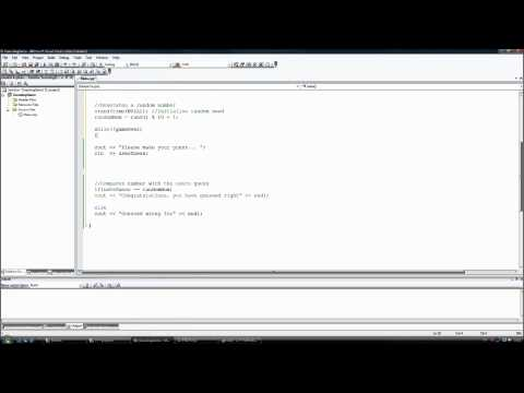 C++ first command prompt game Pt: 1