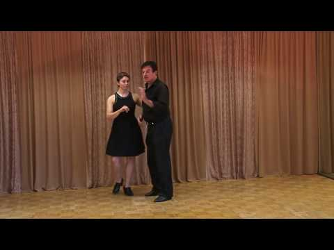 Swing Dancing: Excellent Lead Follow Connection and Partnership
