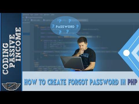 How To Create Forgot Password In PHP & MySQLi