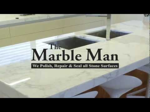Marble or Stone Benchtop Polishing
