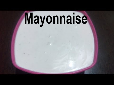 How to Make Eggless Mayonnaise - Easy Homemade Mayonnaise Recipe