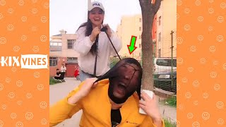 Funny videos 2021 ✦ Funny pranks try not to laugh challenge P160