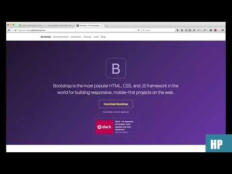 How to create Coming Soon Landing Page in Bootstrap 4
