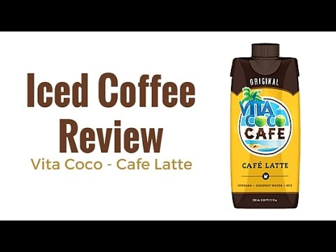 Iced Coffee Review: Vita Coco Cafe Latte