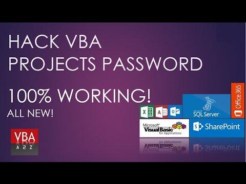 Hack Excel Project Password. Technique-2