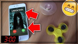 DO NOT SPIN 2 FIDGET SPINNERS AT 3:00 AM! *THIS IS WHY!* (3 AM CHALLENGE) WITH FIDGET SPINNER