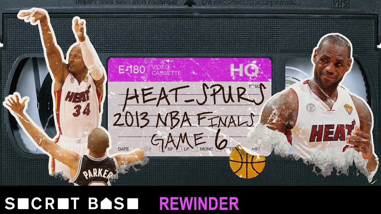 Ray Allen's clutch three-pointer that saved Miami needs a deep rewind | 2013 Spurs-Heat Game 6