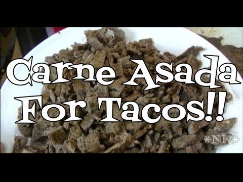 Carne Asada for Tacos Recipe!  Noreen's Kitchen