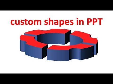 How to create custom shapes in Power Point