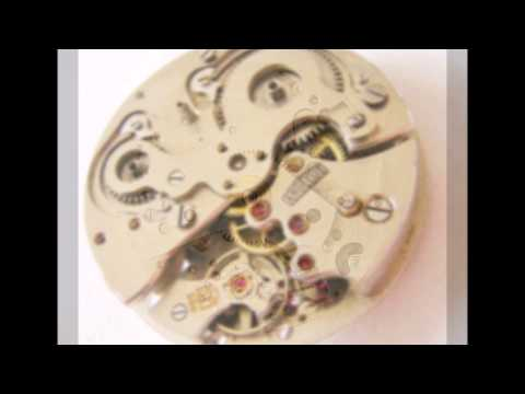 Vintage angelus SF 240 8 day clock / watch movement