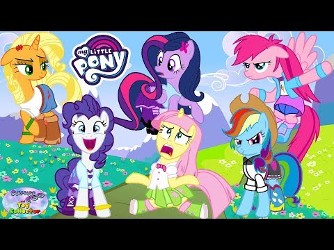 My Little Pony Transforms Mane 6 Color Swap MLP Surprise Egg and Toy Collector SETC