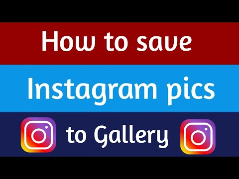 How to save instagram pics or videos to gallery ? (easy method)    Techno Buzzer